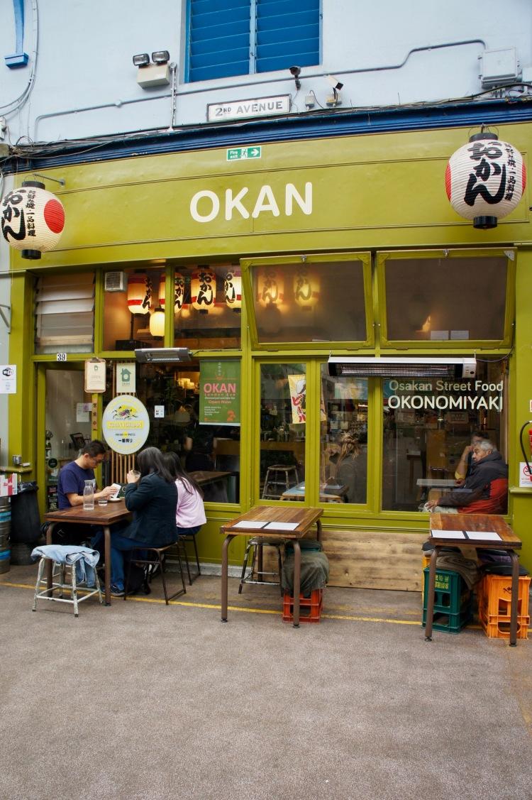 Okan in Brixton Market