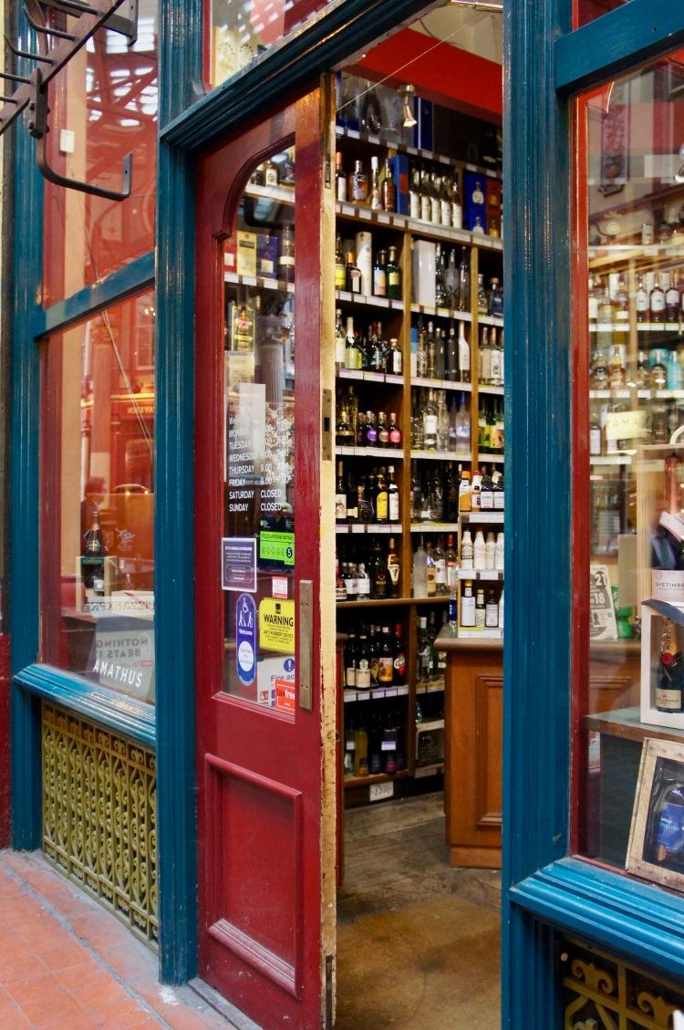 Wine shop in Leadenhall Market