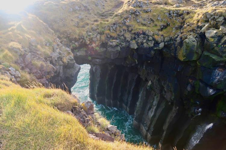 Arnarstapi cliff