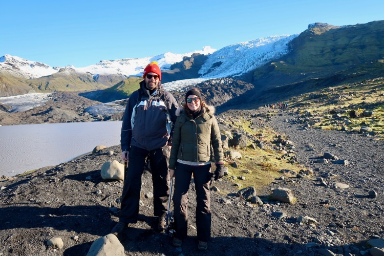 Claire Imaginarium Glacier hike in Iceland