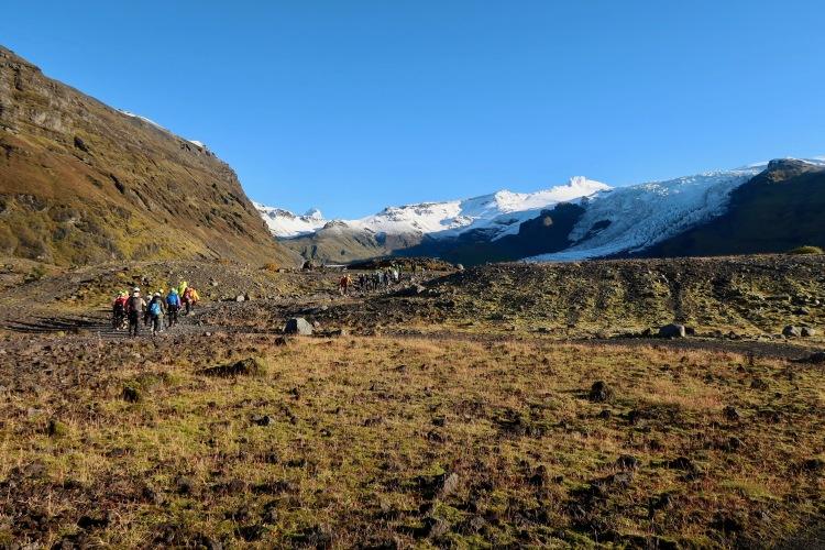 Glacier hike in Iceland Vatnajokull