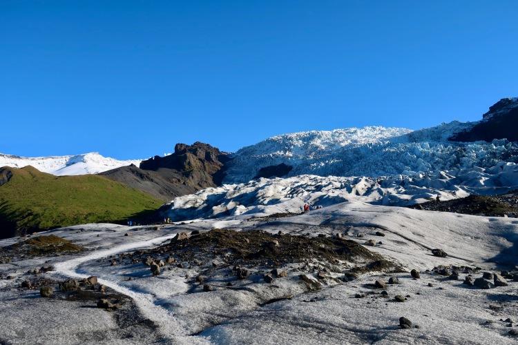 Glacier hike Iceland Vatnajokull