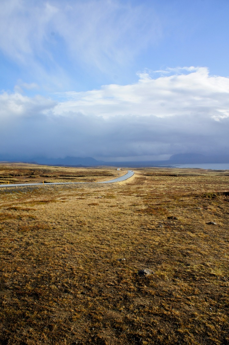 Golden Circle road Iceland