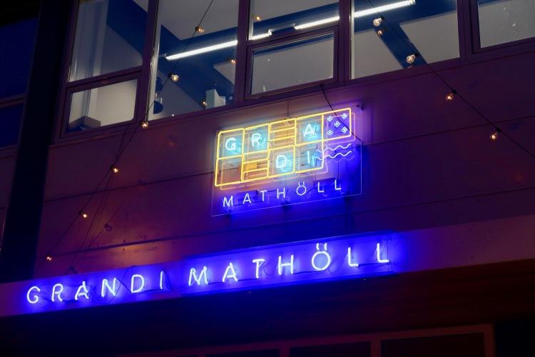 Grandi Mathöll Reykjavik Iceland