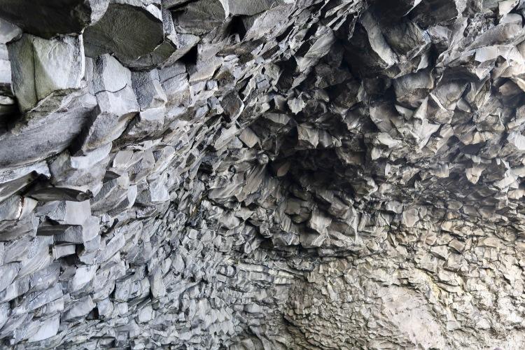 Halsanefshellir sea cave