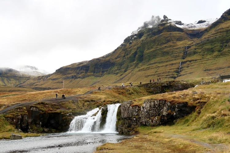 Mount Kirkjufell waterfall