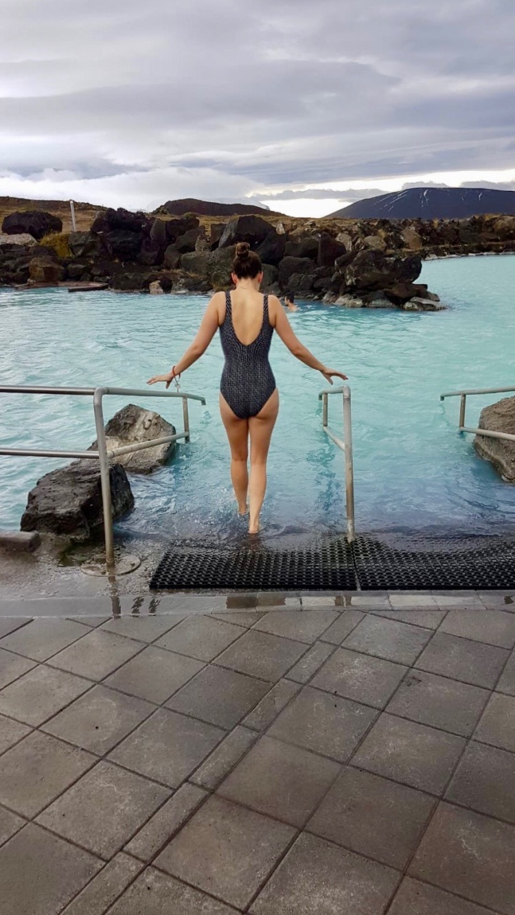 Claire Imaginarium at Myvatn nature baths