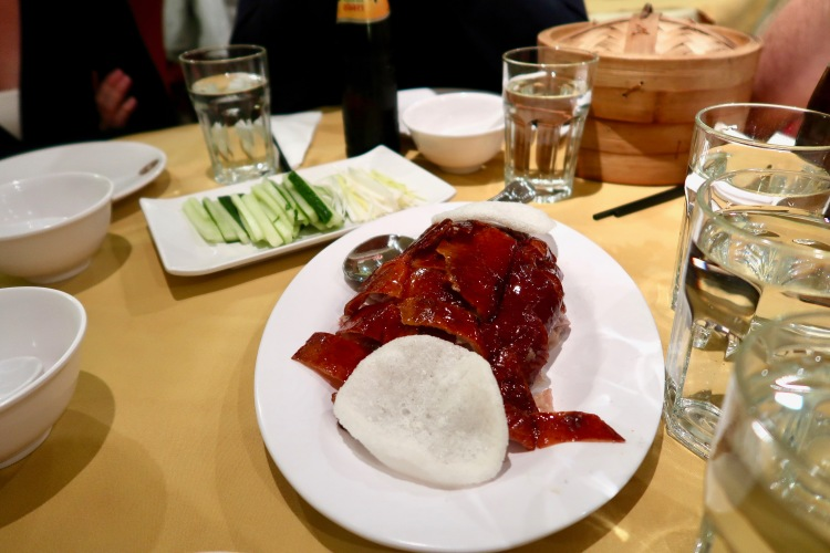 Peking Duck Four Seasons Chinatown London
