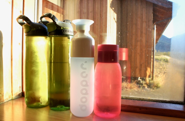 Reusable bottles - 6 easy ways to save money on food and drink in Iceland