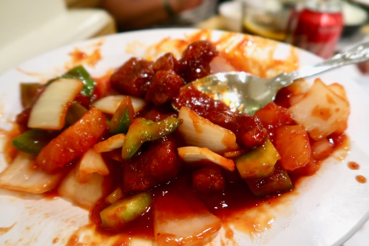 Sweet Sour Chicken Four Seasons Chinatown London