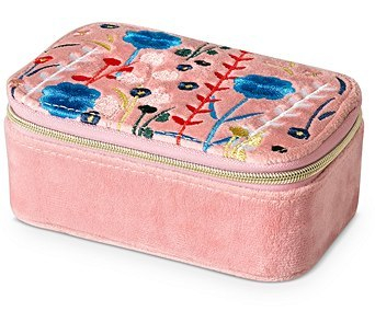 Oliver Bonas travel jewellery box