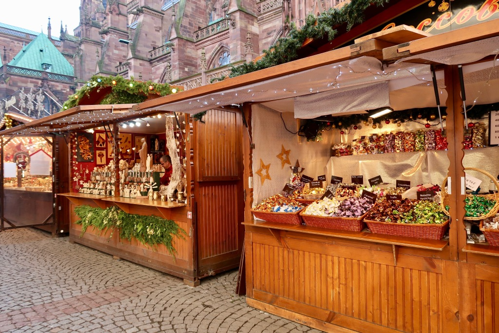Strasbourg Cathedral Christmas Market