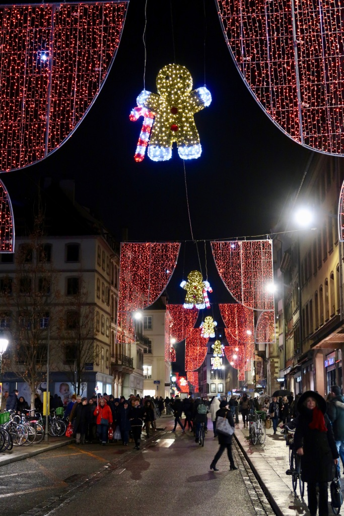 Strasbourg Christmas lights