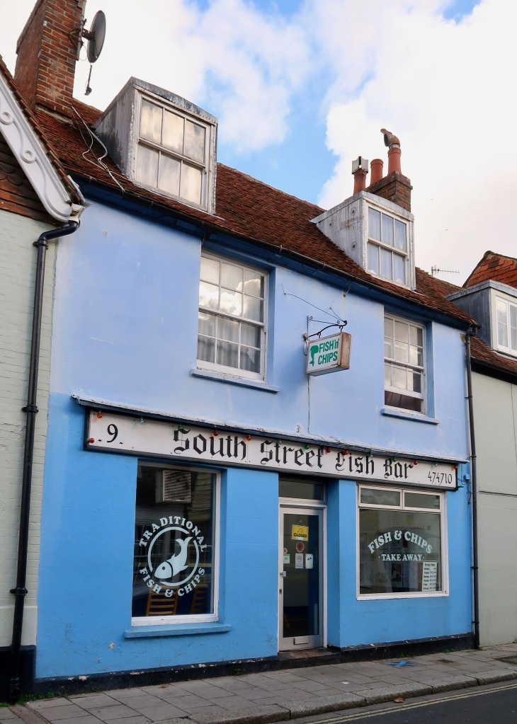 Lewes fish and chips shop