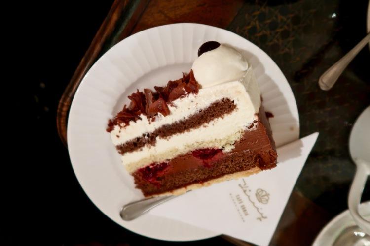 Café König Baden-Baden black forest cake