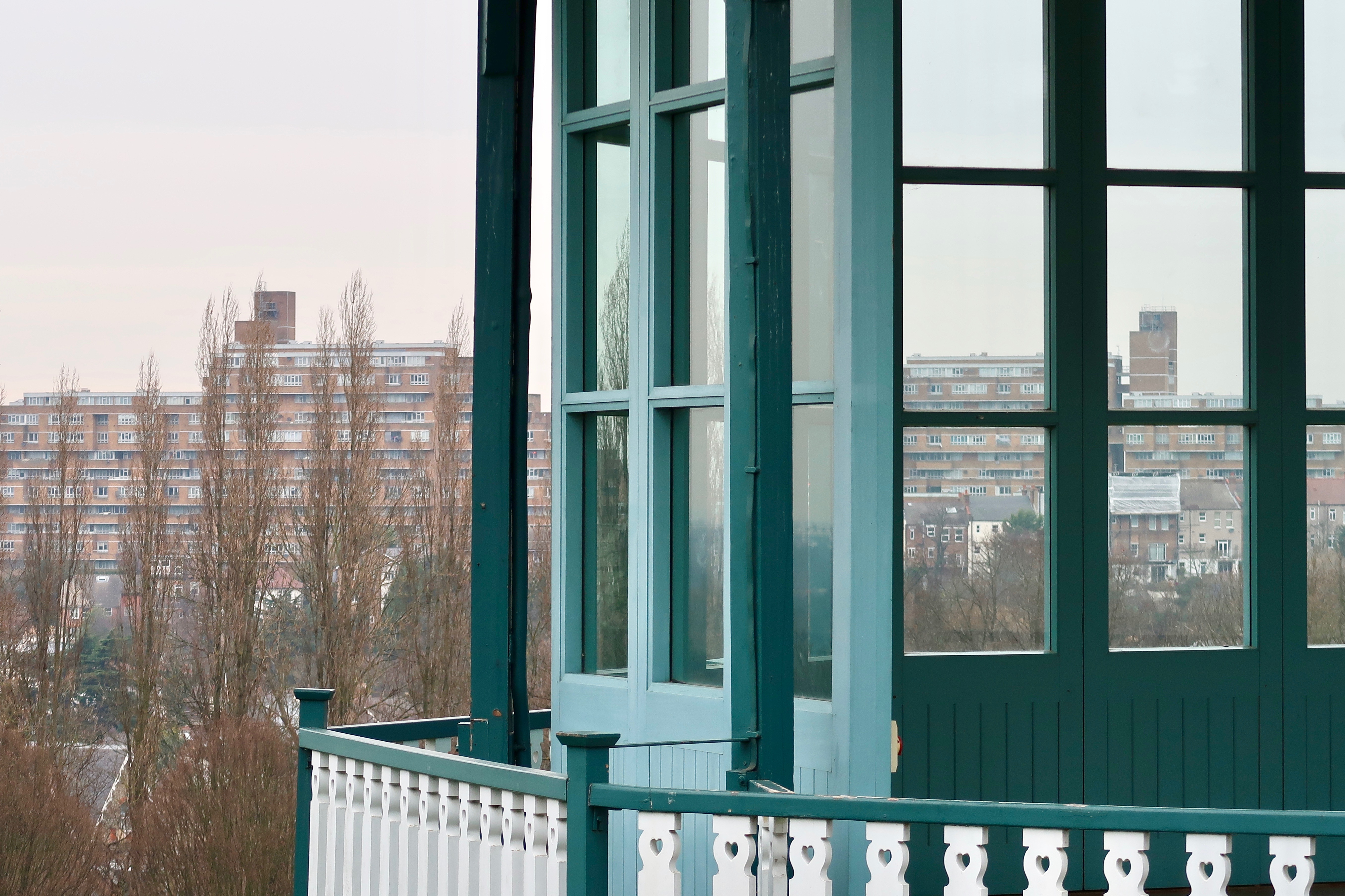 The Horniman Museum and Gardens view