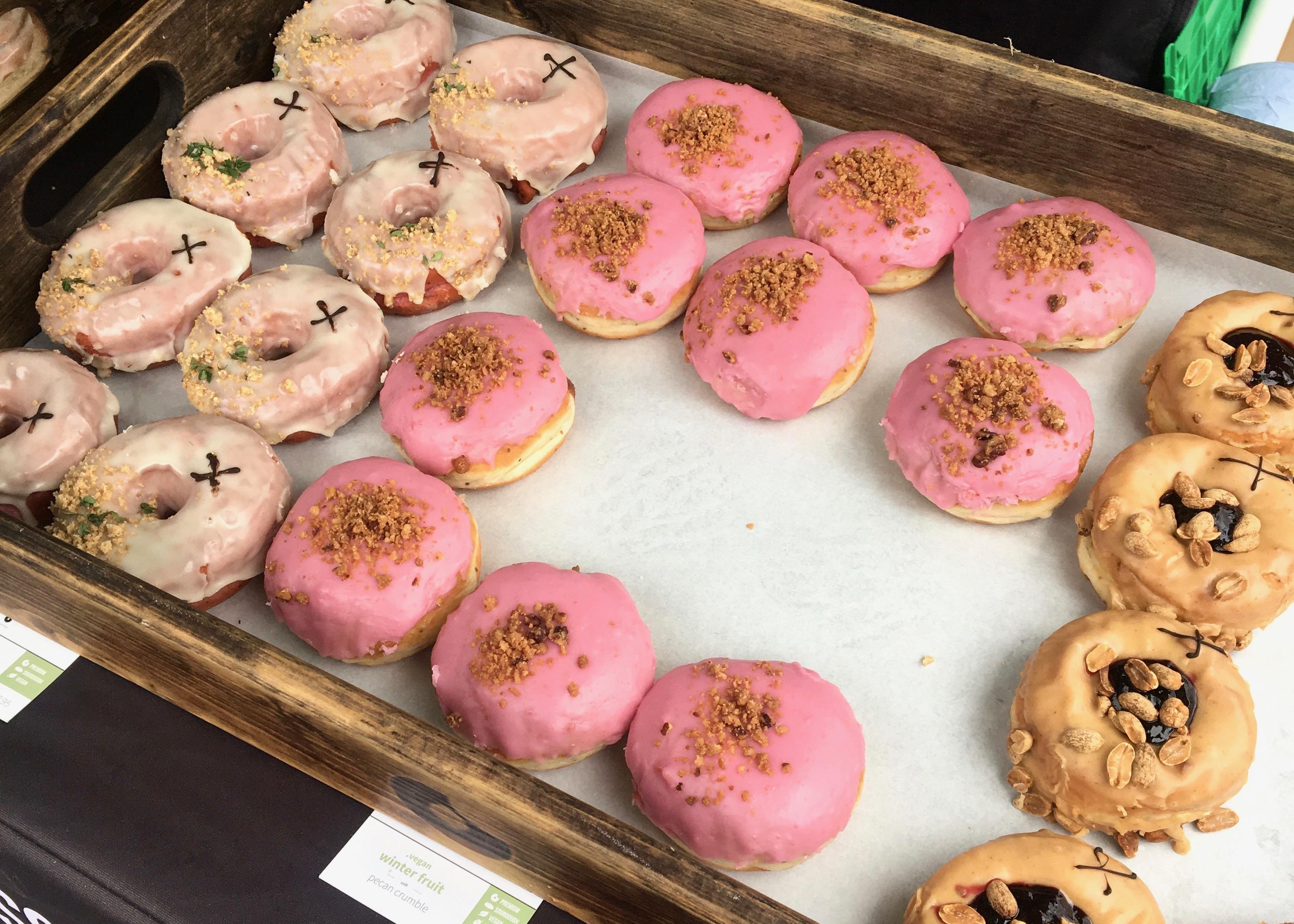 Crosstown vegan doughnuts
