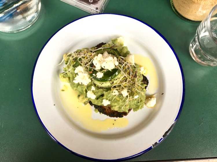 Ask For Janice avocado feta on toast