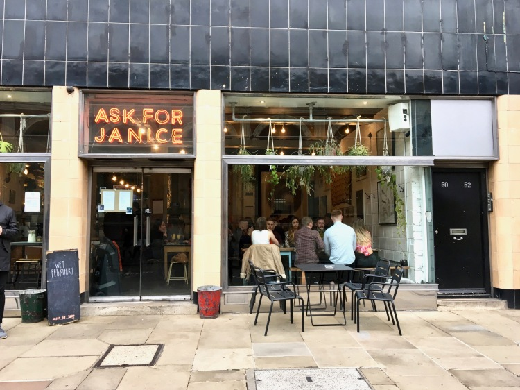 Ask For Janice Bottomless Brunch London