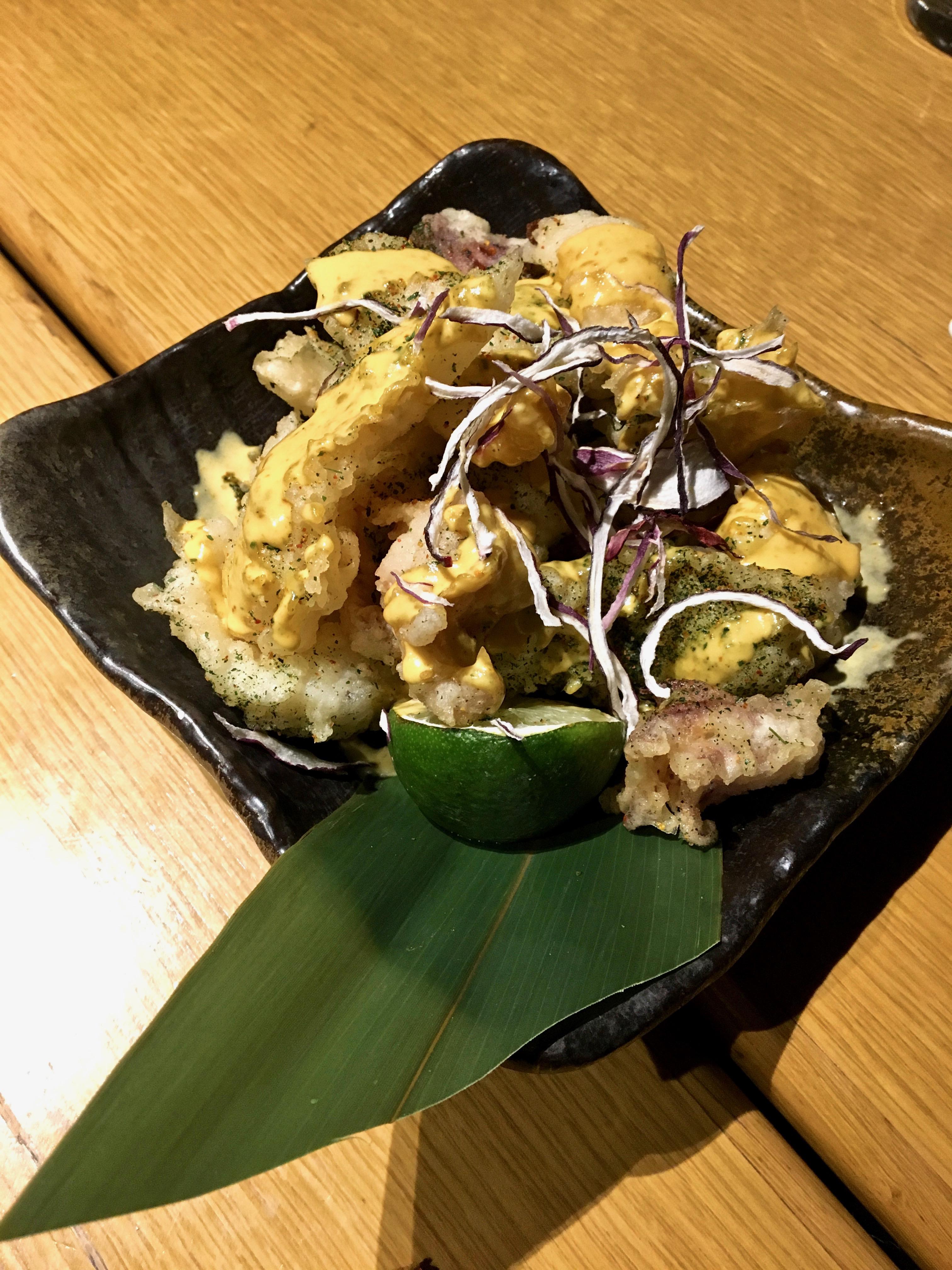 Chotto Matte calamari tempura