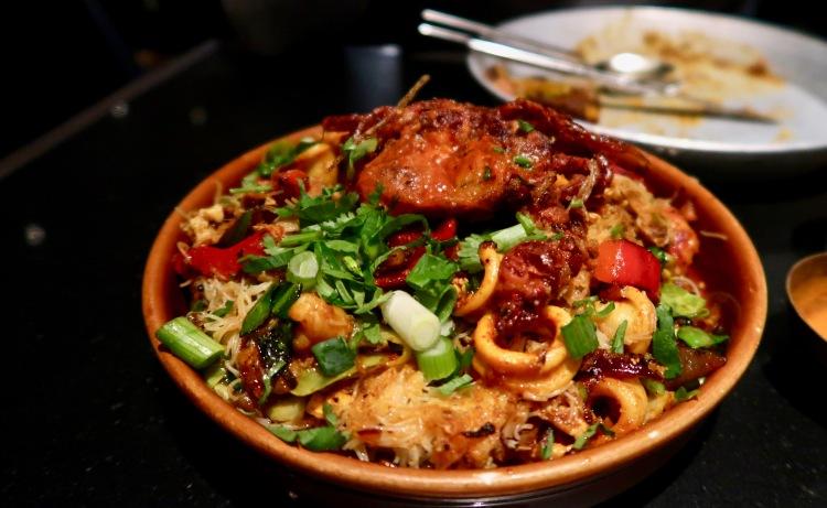 Hoppers seafood kothu