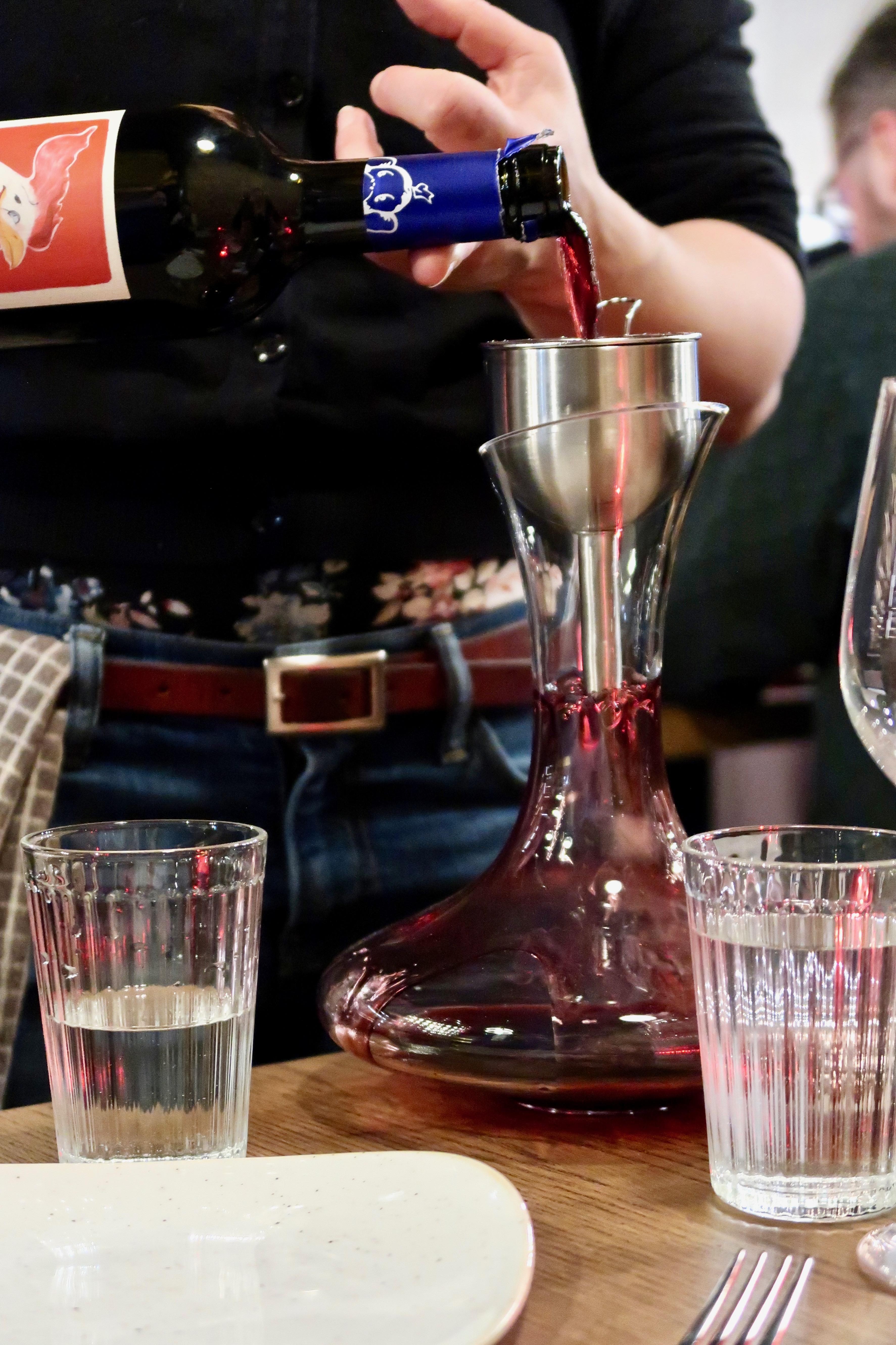 L'Oculto wine decanter