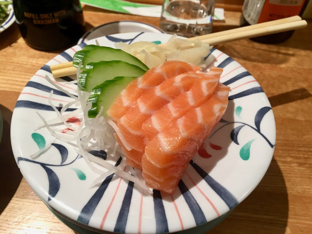 Kulu Kulu Sushi London sashimi