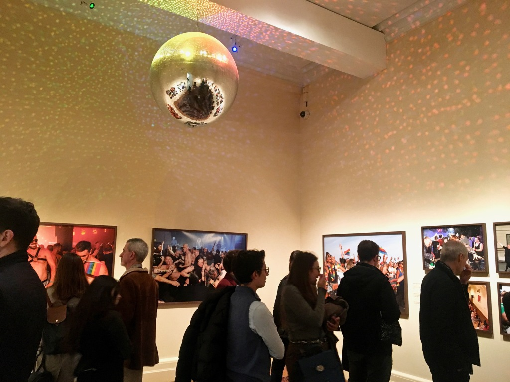 Martin Parr's Only Human exhibition disco ball