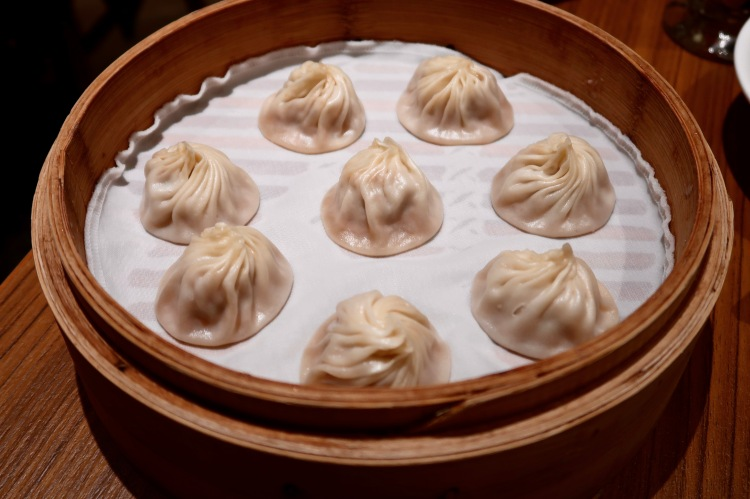 Din Tai Fung London pork xiao long bao
