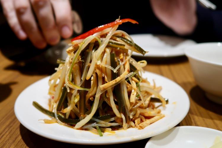 Din Tai Fung London Oriental salad