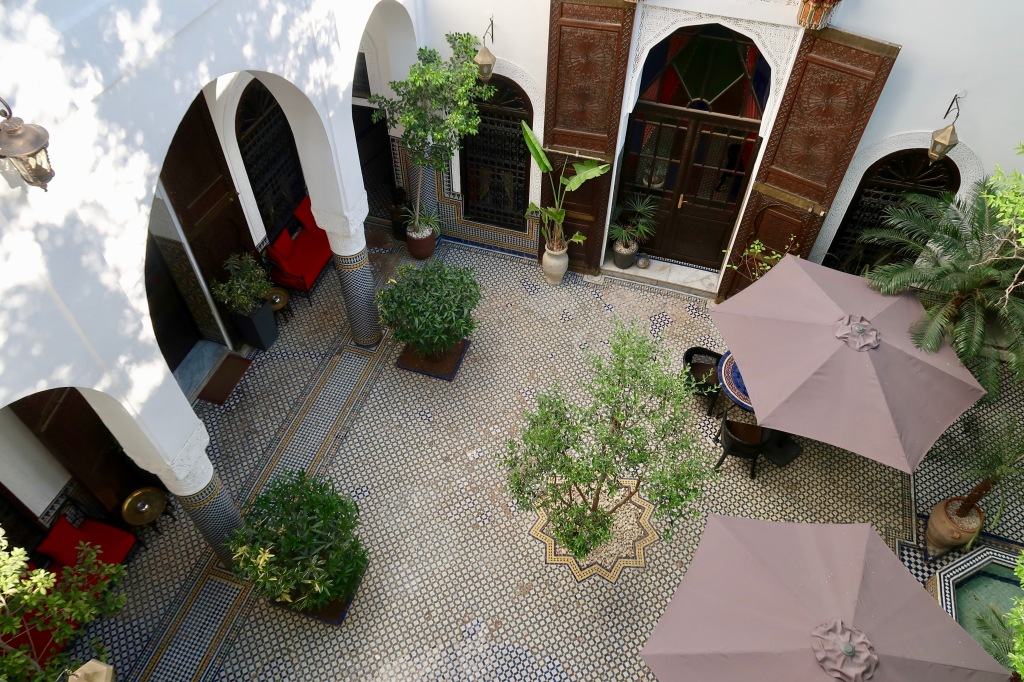 Riad Le Calife courtyard