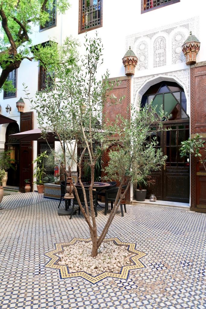 Riad Le Calife garden
