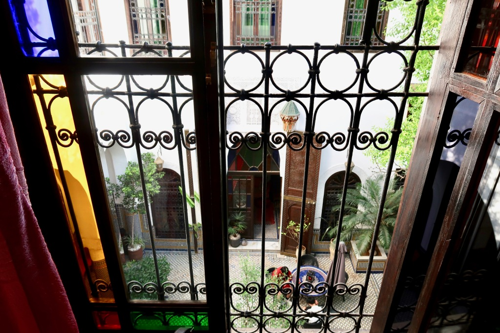 Riad Le Calife room view