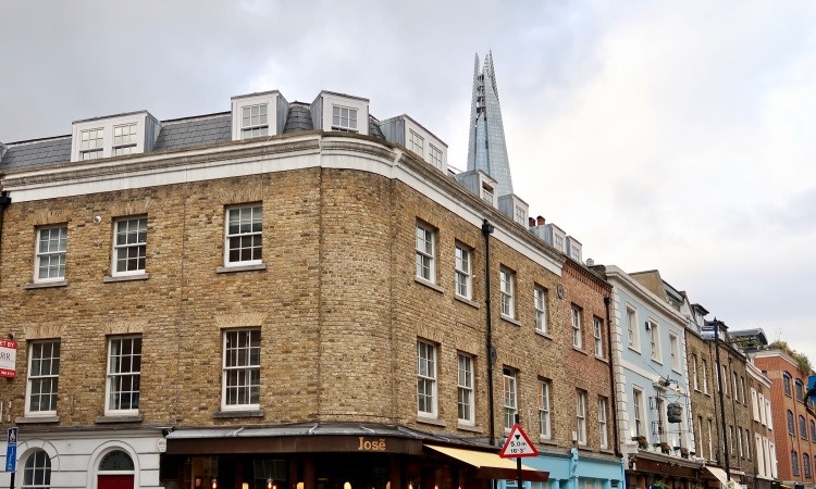 Bermondsey Street Shard